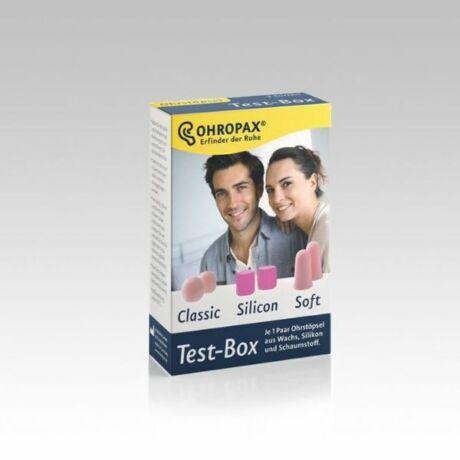 Füldugó OHROPAX Test Box (3pár)