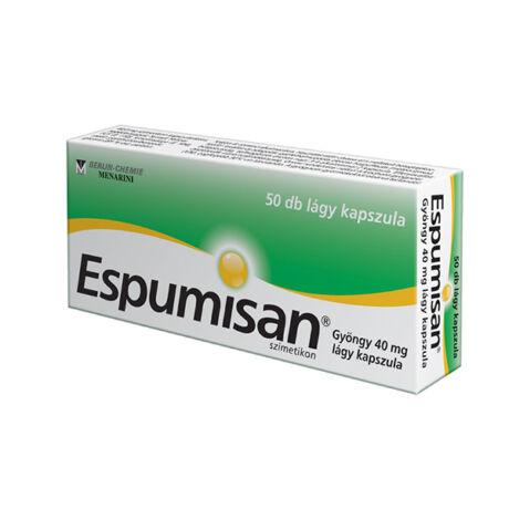 ESPUMISAN® Gyöngy 40 mg lágykapszula 50x