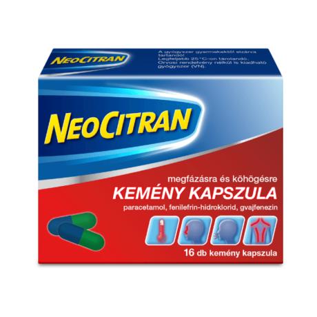 Neo Citran megfázásra/köhögésre kapszula 16x