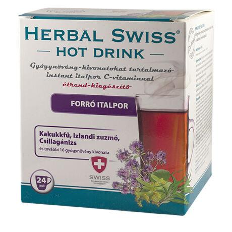 Herbal Swiss Hot Drink gyógynövény kivonattal 24x