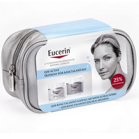 Eucerin Q10 Active csomag száraz bőrre+éjszakai arckrém (50ml+50ml)