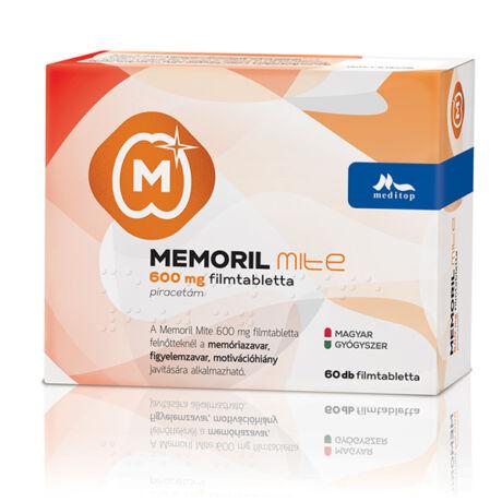 Memoril Mite 600 mg filmtabletta 60x