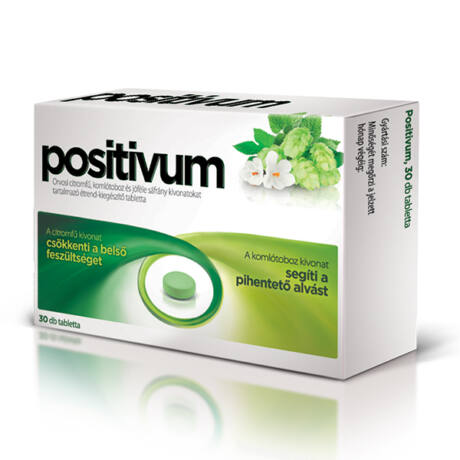 Positivum étrend-kiegészítő tabletta