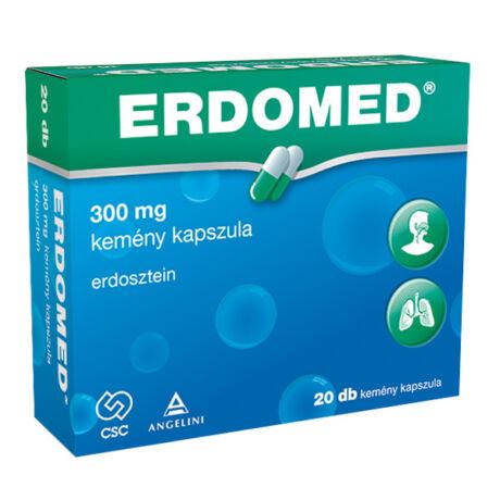 Erdomed 300 mg kemény kapszula 20x
