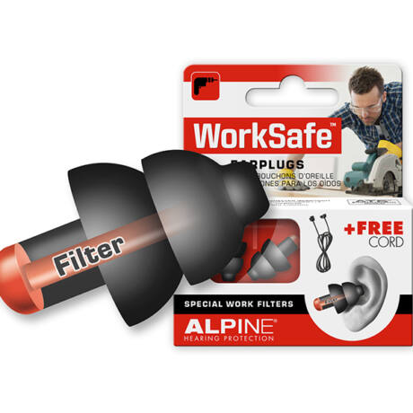 Alpine WorkSafe Füldugó munkához, házkörüli teendőkhöz