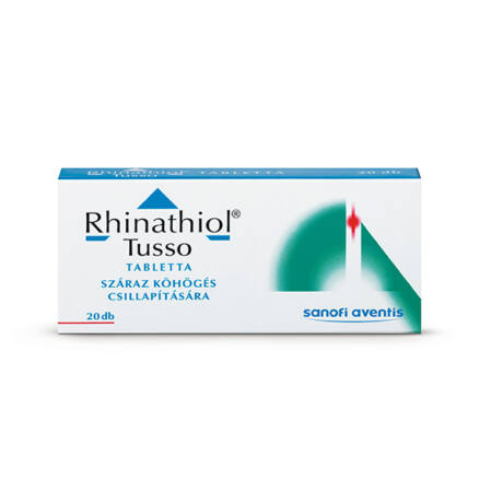 Rhinathiol Tusso 100 mg tabletta 20x