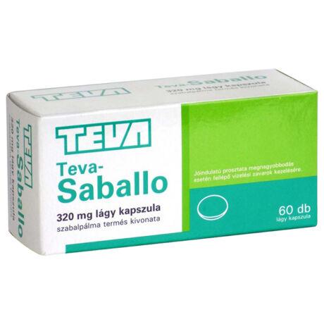TEVA Saballo 320 mg lágy kapszula 60x