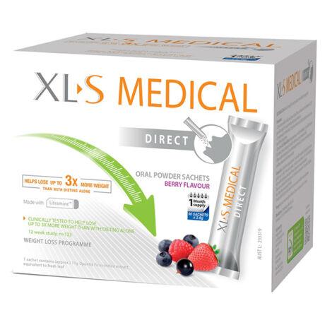 XL-S (XLS) Medical Direct Zsírmegkötő por 90x