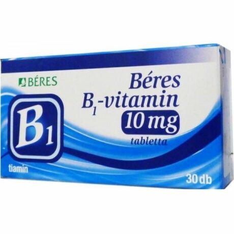 Béres B1 vitamin 10mg tabletta (30x)