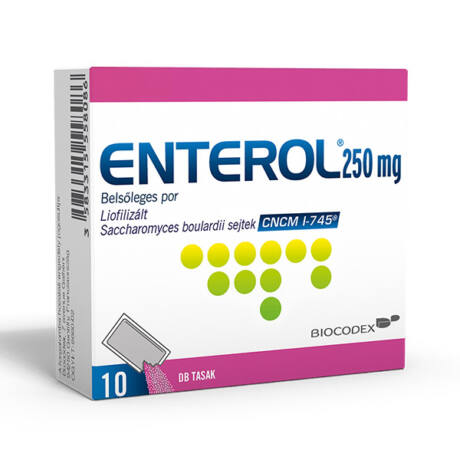 Enterol 250 mg belsőleges por 10x