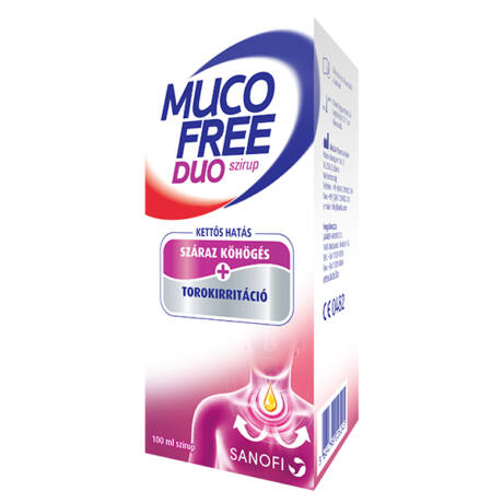 MucoFree DUO szirup 100ml