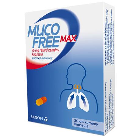 Mucofree MAX 75 mg retard kemény kapszula 20x