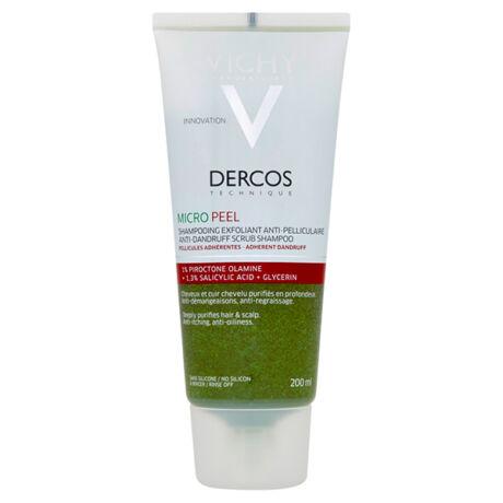Vichy Dercos Micro Peel korpásodás elleni sampon 200ml