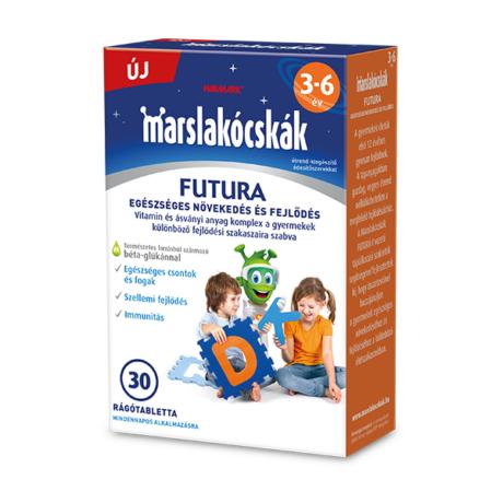 Walmark Marslakócskák Futura rágótabletta 30x - 3-6 év között
