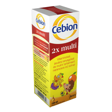 Cebion 2x multi szirup