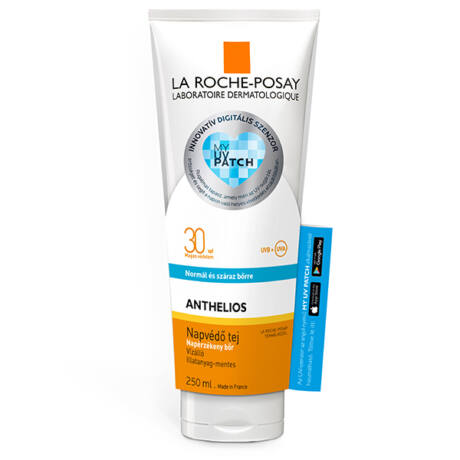 La Roche-Posay Anthelios naptej SPF30 + UV Patch 250ml