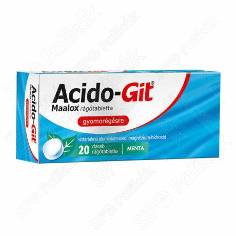 Acido-GIT Maalox rágótabletta (20x)