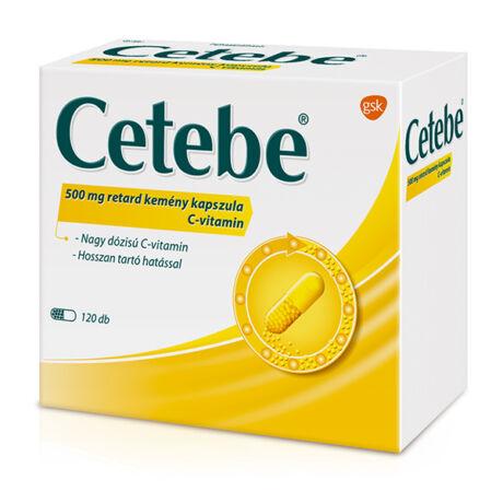 Cetebe 500 mg retard kemény kapszula 120x