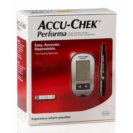 AccuChek Performa vércukorszintmérő készülék
