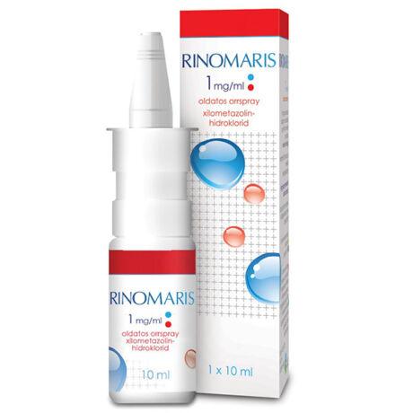 Rinomaris 1 mg/ml oldatos orrspray 10ml