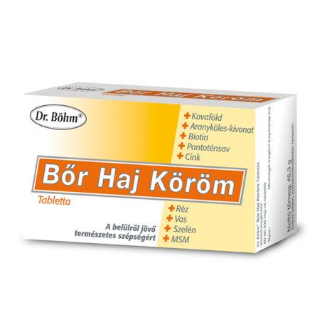 Dr.Böhm bőr-haj-köröm tabletta (60x)