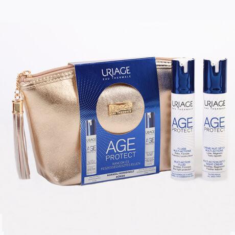 Uriage Age Protect csomag Ráncok és Feszességvesztés ellen normál/kombinált bőrre