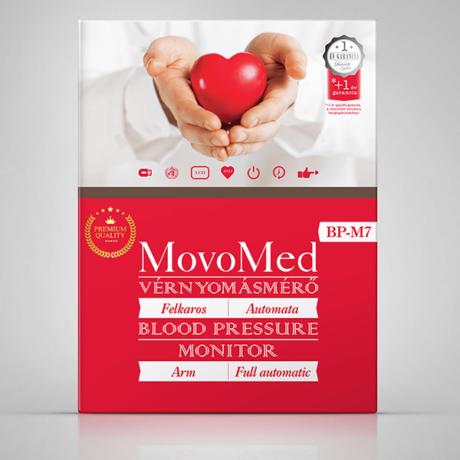 Vérnyomásmérő automata felkaros - Movo-Med BP-M7
