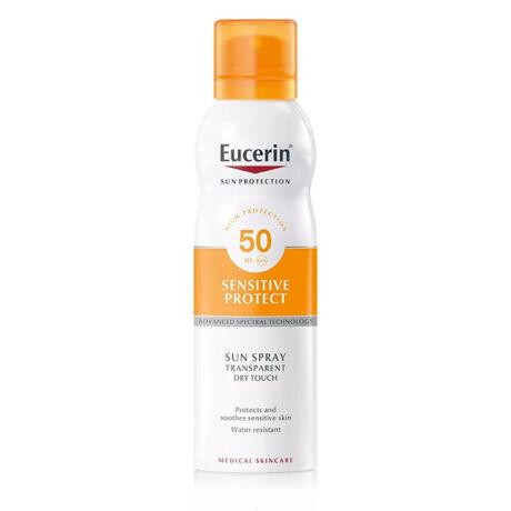 Eucerin Sun Sensitive Protect Színtelen napozó aerosol spray FF50 200ml