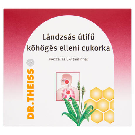 Dr.Theiss Lándzsás utifű cukorka (50g)