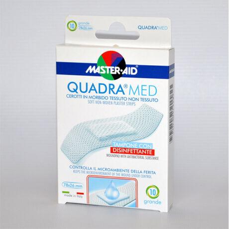 Master Aid Quadra med sensitive sebtapasz nagy 10x