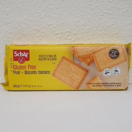 Schar gluténmentes Petit keksz 165g