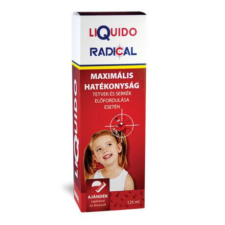 Liquido Radical sampon tetű és serkeirtó 125ml