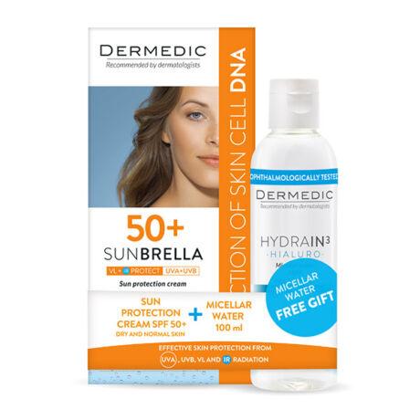 Sunbrella Fényvédő arckrém SPF 50+ száraz és normál bőrre