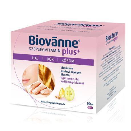 Biovanne Plus szépség vitamin kapszula 90x