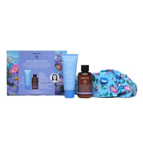 Apivita Aqua Beelicious hidratáló csomag rich +ajándék
