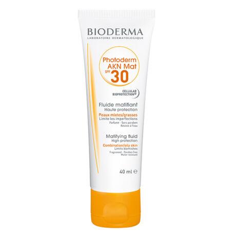 Bioderma Photoderm AKN MAT SPF30/UVA13 krém aknés, zsíros bőrre