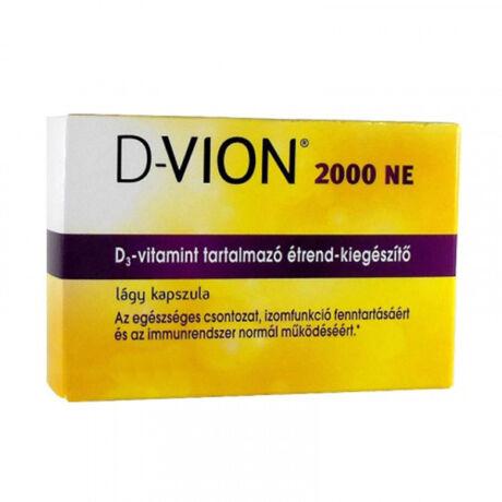 D-Vion D3 2000NE kapszula 60x