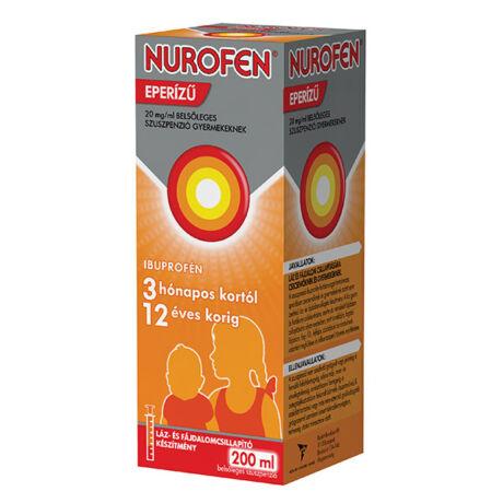 Nurofen eperízű 20 mg/ml belsőleges szuszpenzió gyermekeknek 200ml