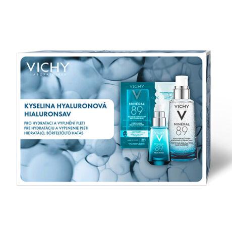 Vichy Hialuronsav Trio (Mineral89) arcápoló csomag