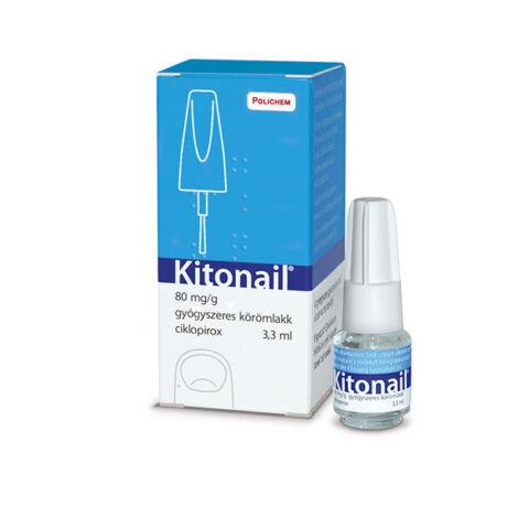 Kitonail 80mg/g gyógyszeres körömlakk