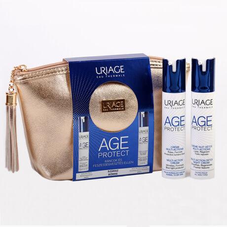 Uriage Age Protect csomag Ráncok és Feszességvesztés ellen száraz bőrre