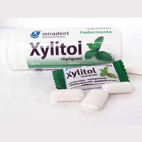 Xylitol rágógumi drazsé fodormenta 30x
