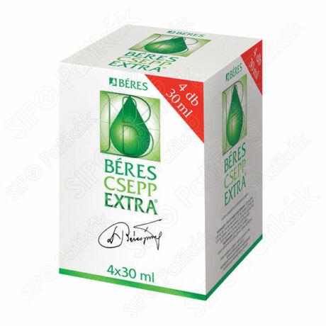 Béres Csepp Extra belsőleges oldatos cseppek (4x30ml)