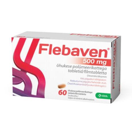 Flebaven 500 mg filmtabletta 60x