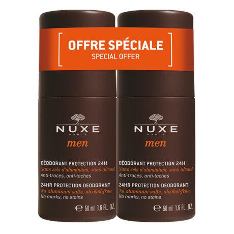 Nuxe Men deo csomag - 24 órás védelemmel DUO (2x50ml)