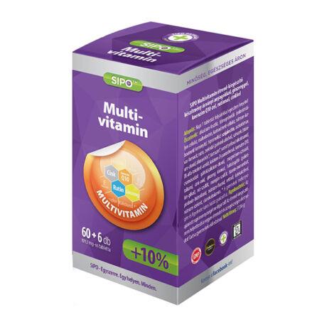 SIPO Multivitamin tabletta 66x