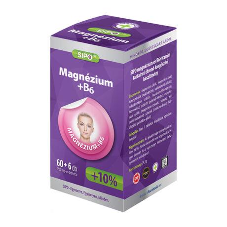 SIPO Magnézium+B6 tabletta 66x