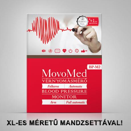 Vérnyomásmérő automata felkaros - Movo-Med BP-M2 XL