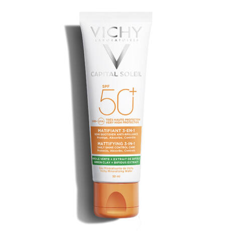 Vichy Capital Soleil Mattító 3-in-1 napvédő krém SPF50+ 50ml