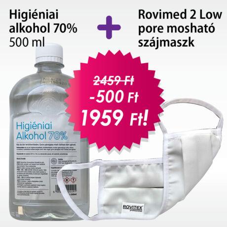 Higiéniai alkohol + Rovimed szájmaszk
